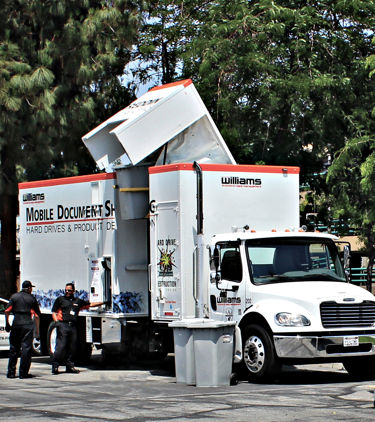 mobile paper shredding Paper shredding services are available at the following locations:  dswa  partners with shred one mobile paper shredding to provide this service to.