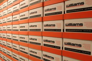 Williams Record Storage